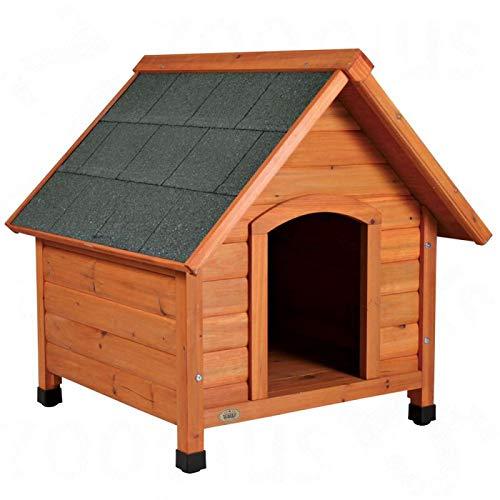 Fácil de montar de madera perro de la perrera con techo inclinado - especialmente por pies con el fin de proteger a su mascota de el frío y la lluvia y ...