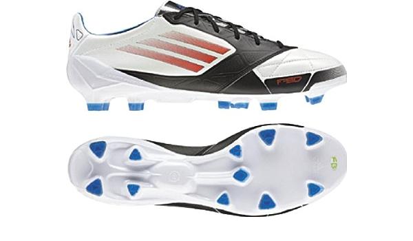 Amazon.com | Adidas - F50 Adizero Trx Fg Lea Mens Shoes In White ...