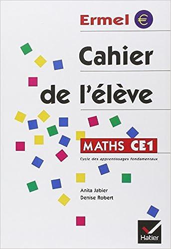 Maths CE1. : Cahier de l'élève pdf