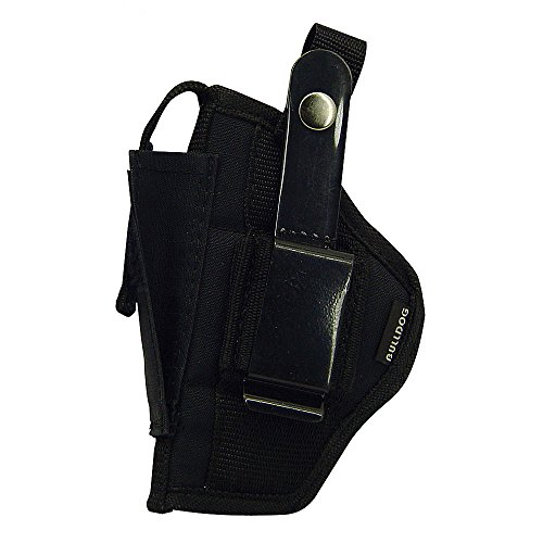 (Bulldog Cases Belt and Clip Ambi Holster (Fits Most Compact Auto's 3 - 4-Inch with Oversized Mag, Glock 26 & 29))