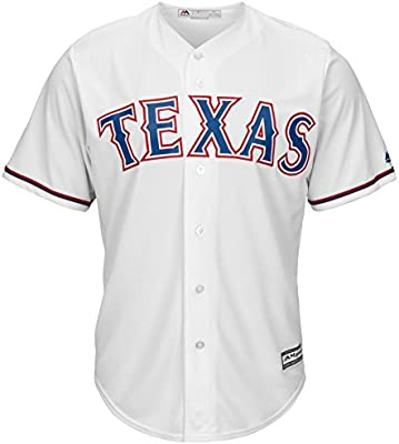 competitive price 562d4 d8602 Majestic Athletic Texas Rangers Home Cool Base Men's Jersey
