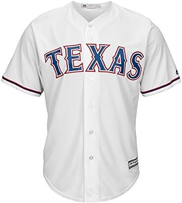 aaaf6cf5f Texas Rangers 2016 Cool Base Replica Home MLB Baseball Jersey - Size X-Large