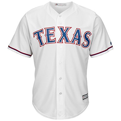 Texas Rangers Home Cool Base Men's Jersey (Large) (Rangers Mens Jerseys)