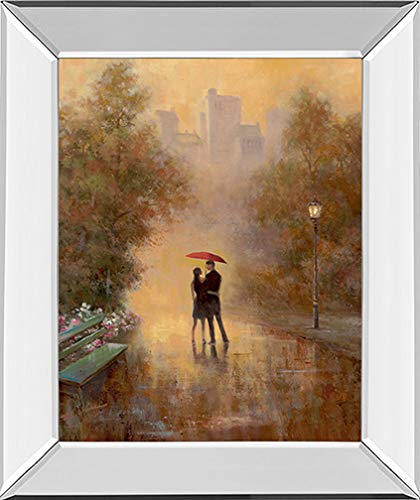 """Used, Classy Art""""""""Walk in The Park I by T.C. Chiu Framed for sale  Delivered anywhere in USA"""