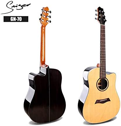 HVTKLN 41インチトウヒアコースティックギターのバラード電気ボックスギターローズウッド HVTKLN (Color : True color, Size : 41 inch)