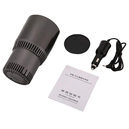 FayOK Auto Car Heating Cooling Can Cup Holder Drink Can Electric Vehicle Heater 12V Auto Cars Drink Holders