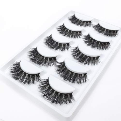 51ffca46679 Features. MATERIAL: Full strip 3d mink hair false eyelashes made of 100% siberian  mink fur, soft and vivid. ADVANTAGE: Long and thick ...