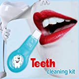 Teeth Whitening Kit,Professional Nano Natural Teeth Whitener System Tool Kit by Cocohot (2 handles + 5 replacement cotton)