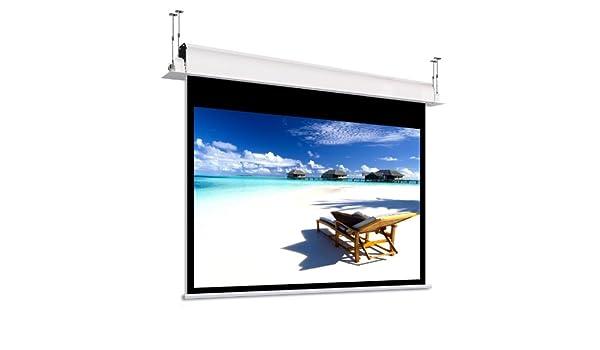 Pantalla de techo para proyector eléctrica, 4:3, Video 240 cm ...
