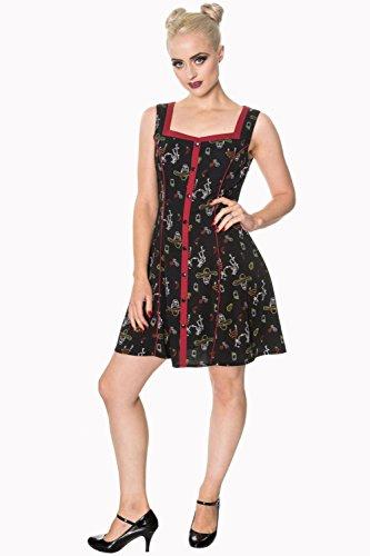 敗北パシフィックストライドBanned Apparel - Black Nomad Dress L