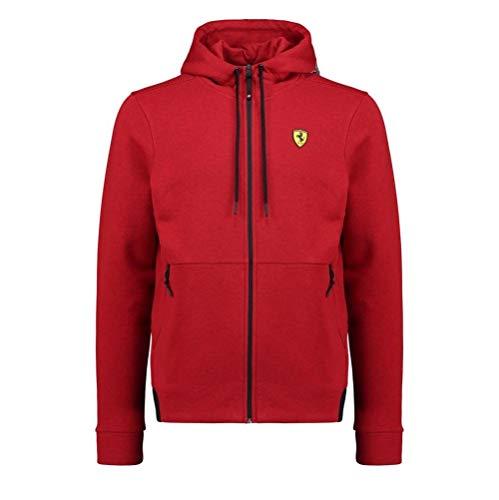 - Scuderia Ferrari Formula 1 Men's 2018 Red Hooded Sweat Jacket (XL)