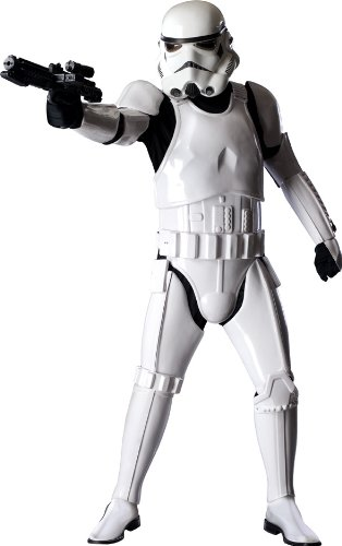 [Rubies Star Wars Supreme Edition Adult Stormtrooper Costume, X-Large | 909866] (Storm Costume Cosplay)