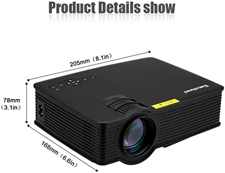 Amazon.com: Excelvan eh09 Mini LED proyector portátil ...