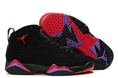 3b3915c4c2d51a Image Unavailable. Image not available for. Color  Jordan Air 7 VII Retro  Raptors Men s Basketball Shoes Black True Red Dk.