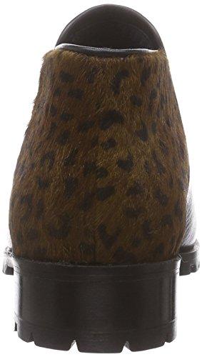 XYXYX Booty - botines chelsea de piel mujer Multicolor (black/brown)