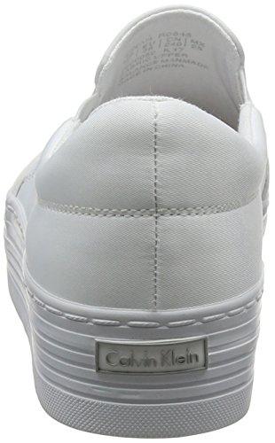 000 Affollando wtw Donne Bianco Jeans Klein Formatori Slittamento Nylon Zinah Su Delle Calvin qSFAwt7xS
