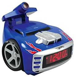 Emerson HW805 Hot Wheels Scrrechin Projection Alarm Clock Radio