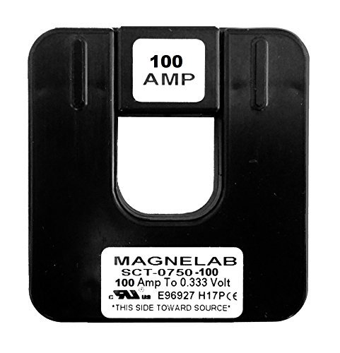 Magnelab SCT-0750-100 Split Core Current Transformer (CT) 0.75'' ID 0.333V Secondary (Output) 100 Amp Primary (Input)