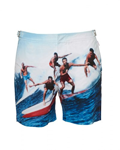 a34aa7097f886 Orlebar Brown Mens Bulldog Swell Guys Swim Shorts, Navy White Swimming  Trunks - Buy Online in Oman. | Clothing Products in Oman - See Prices, ...