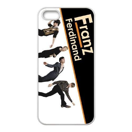 F9Y53 Franz Ferdinand I8J3BH coque iPhone 4 4s cellule de cas de téléphone couvercle coque blanche DB6VON5VN