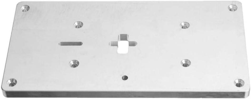 HYCy ® Placa de inserción de Mesa de fresadora de Aluminio con ...