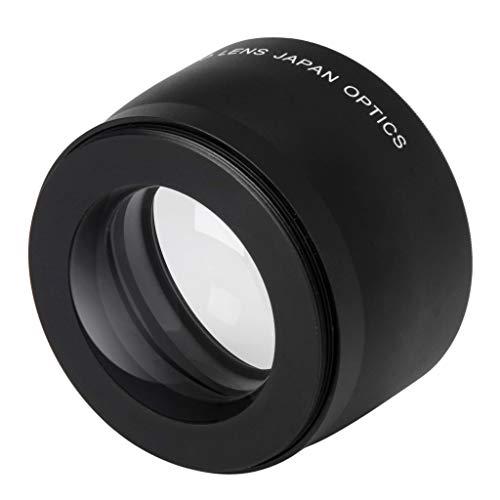 Elegant Essence 52mm 2X Telephoto Lens Teleconverter for Nikon D5100 D3200 D70 D40 Canon EOS 1300D 600D 5D DSLR Cameras Universal