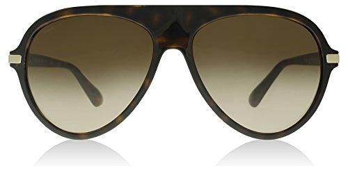 Versace Men's VE4321 Havana/Brown Gradient - Versace Mens Sunglasses Aviator