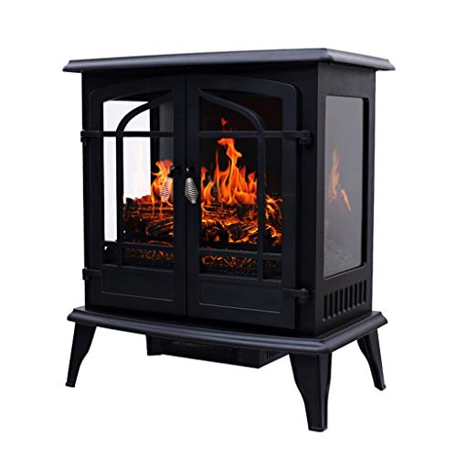 Cheap Liu Weiqin Electric Fireplace - Large Independent False fire Fireplace Heater/Home Simulation Flame Electric Fireplace core 720460720MM Black Friday & Cyber Monday 2019