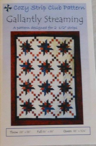 Gallantly Streaming Pattern by Cozy Quilt Designs Patriotic