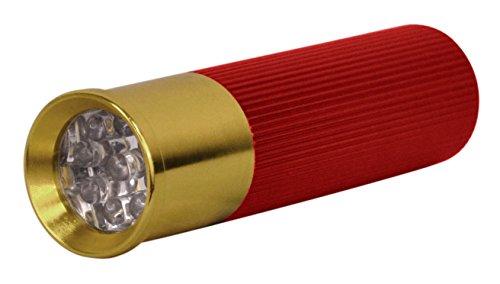 Shotgun Shell Flashlights - 3 Pack, LED, Aluminum, with batteries