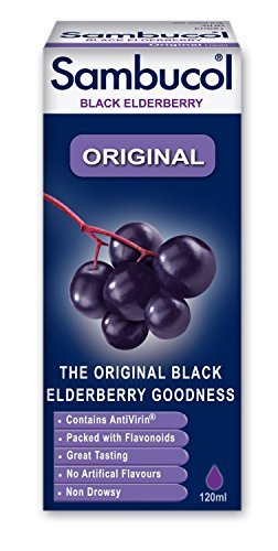 Sambucol Original Black Elderberry Extract (120ml) (Sambucol Syrup Elderberry)