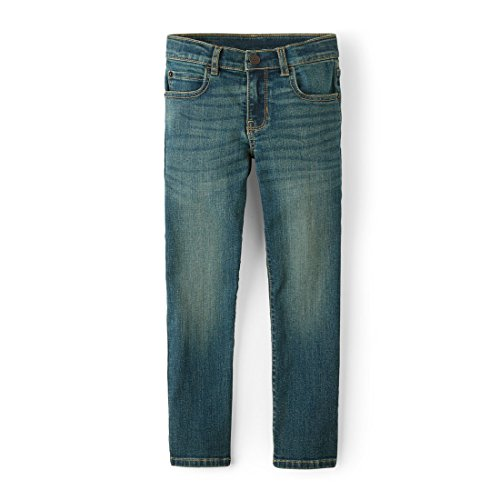 The Children's Place Big Boys' Straight Leg Jeans, AGEDINDIGO,4 ()