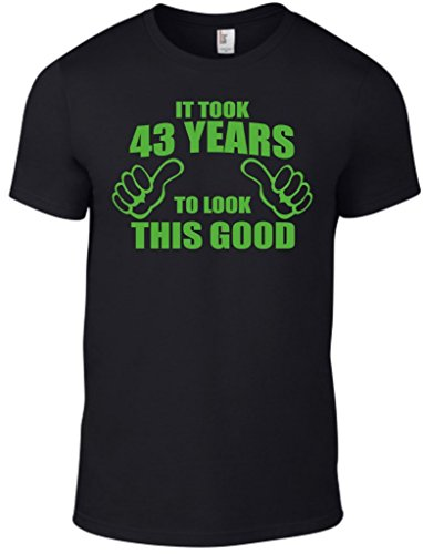 Novelty Gifts Herren T-Shirt, Logo schwarz schwarz