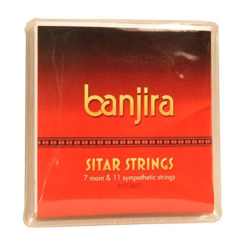 banjira Sitar String Set, Std, 7, Light BJSSTRS7
