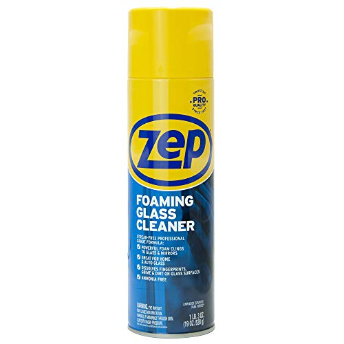 Zep ZUFGC24 Foaming Glass Cleaner 19 Ounces