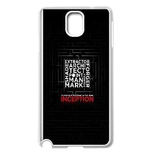 Samsung Galaxy Note 3 Cell Phone Case White_Inception Dark Poster Nxkik