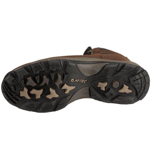 Hi-Tec Altitude Iv Wp Nubuck - Zapatillas de senderismo de cuero nobuck para hombre Marrón (Dunkle Schokolade)