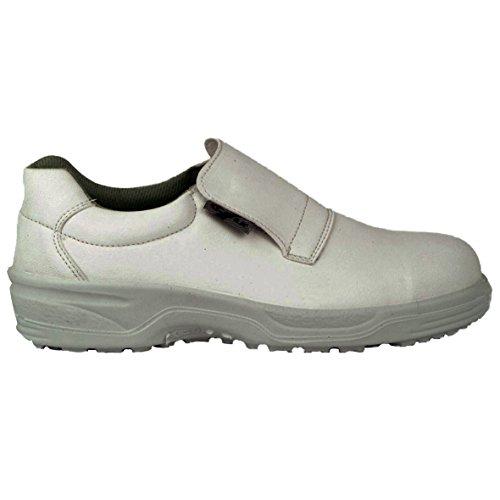 Cofra NEW Cadmo S2SRC paio di scarpe di sicurezza Taglia 48Bianco