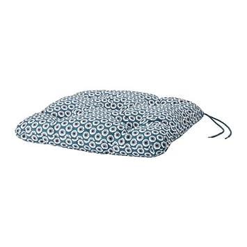 Ikea Silla Pad, para Exteriores, Azul 1028.51423.26: Amazon ...