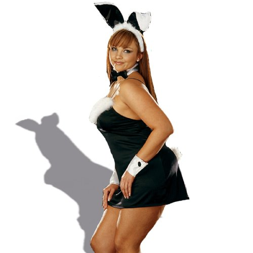 [Plus Size Bunny Adult Thumper Costume] (Plus Size Easter Bunny Costumes)