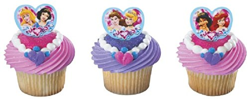 l Heart Cupcake Poly Pics. 24 Count Cupcake Toppers ()