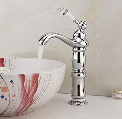 Retro moderne Küche Badezimmer Kupfer Antik Einzel - Bassin - Hahn Waschbecken Künstlerisches Bassin - Hahn kalte und heiße Wasserhahn