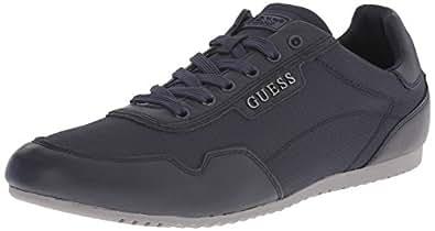 GUESS Men's Teddie Fashion Sneaker, Navy, 9 M US