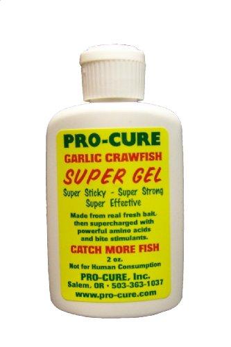 Pro-Cure Garlic Crawfish Super Gel, 2 Ounce