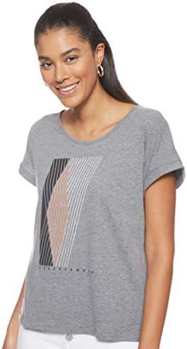 [アンダーアーマー] グラフィック エントワインド ファッション ショートスリーブ クルー(トレーニング/Tシャツ) 1344691 レディース