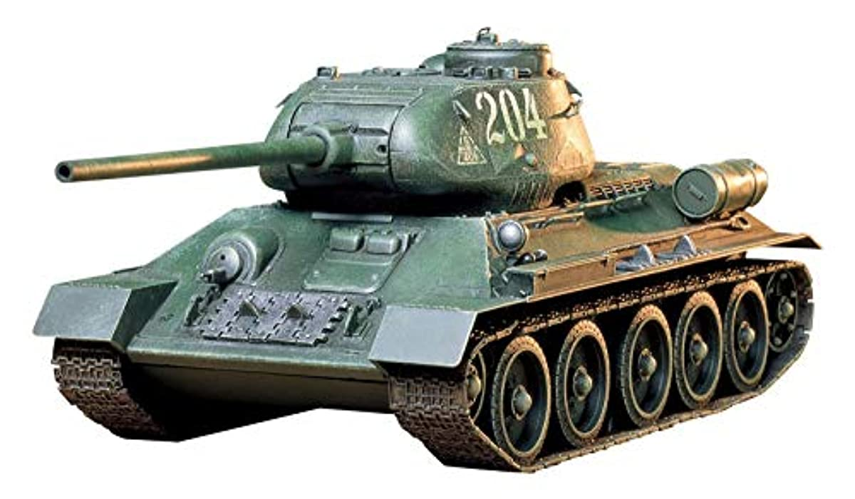 [해외] 퍼터미야 1/35 밀리터리 미니어쳐 시리즈 NO.138 소비에트군 T34/85 중 전차 프라모델  35138