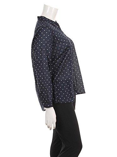 Via Appia Due, Blusa para Mujer MARINE / ECRU