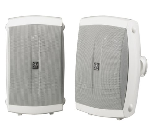 Yamaha NS-AW350W All-Weather Indoor/Outdoor 2-Way Speakers - White (Pair) by Yamaha