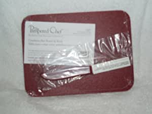 pampered chef cranberry bar board knife bar cutting boards kitchen dining. Black Bedroom Furniture Sets. Home Design Ideas