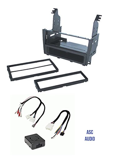 (ASC Car Stereo Install Dash Kit and Amplifier Retention Wire Harness for installing an Aftermarket Radio for 2002 2003 2004 2005 Lexus IS300 w/Amp)